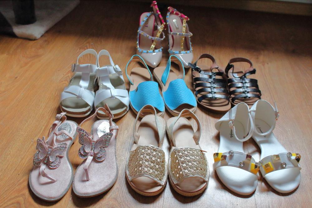 kolekcja sandałków